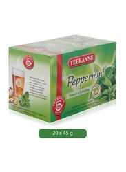 Teekanne Peppermint Herbal Tea, 20 Tea Bags x 2.25g