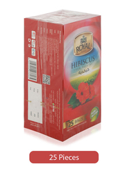 Royal Hibiscus Pure & Natural, 25 Tea Bags x 2g