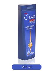 Clear Men's Hair Fall Defence Anti-Dandruff Shampoo for All Hair Types, 200ml