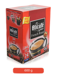 Power Root AliCafe Signature French Roast 3-in-1 Instant Coffee, 24 Sachets x 25g