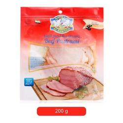 Al Rawdah Beef Pastrami, 200 grams