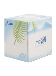 Masafi Boutique White Tissue, 100 Sheets x 2 Ply