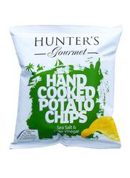 Hunter's Gourmet Sea Salt & Cider Vinegar Hand Cooked Potato Chips, 40g