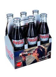 Coca Cola Light Soft Drink, 6 Bottles x 290ml