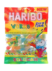 Haribo Fizz Worms Jelly Candy, 160g