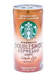 Starbucks Doubleshot Espresso Premium Coffee Drink, 200ml