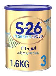 Wyeth S-26 Progress Gold Stage 3 Premium Milk Powder Can, 1.6 Kg