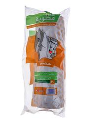 Sanita Sufra Matwiya Hassir Table Cover, Orange/White