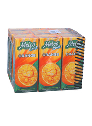 Melco Orange Juice Drink, 9 x 250ml