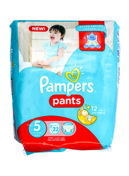 Pampers Pants, Size 5, Junior, 12-18 kg, Carry Pack, 22 Count