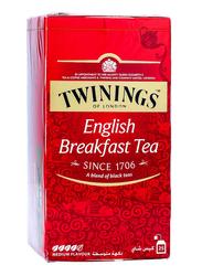 Twinings Gold English Breakfast Tea, 25 Tea Bags x 2g