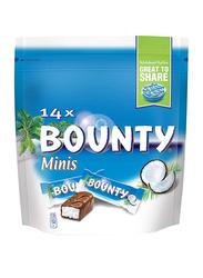Bounty Mini Chocolates, 14 Pieces, 399g