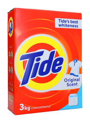 Tide Original Scent Laundry Powder Detergent, 3 Kg