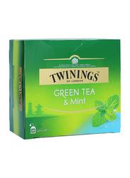 Twinings Mint Green Tea, 50 Tea Bags x 1.5g