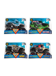 Spin Master Monster Jam 1:24 Collector Die Cast Assorted, 4 Pieces, Ages 3+