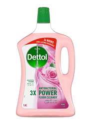 Dettol Rose 3X Antibacterial Power Floor Cleaner, 1.8 Litres