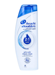 Head & Shoulders Classic Clean 2-in-1 Anti-Dandruff Shampoo + Conditioner for All Hair Types, 400ml