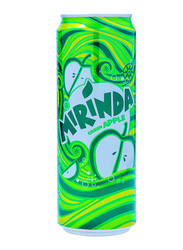 Mirinda Green Apple Soft Drink, 355ml