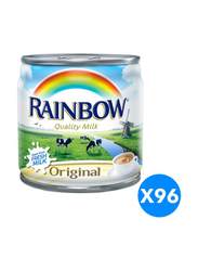 Rainbow Original Evaporated Milk, 96 Cans X 170g