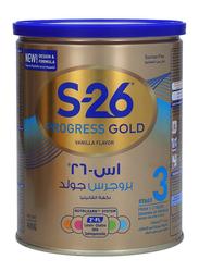 Wyeth S-26 Progress Gold Stage 3 Growing Up Formula Milk Powder, 400g