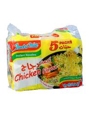 Indomie Chicken Instant Noodles, 5 Packs x 70g