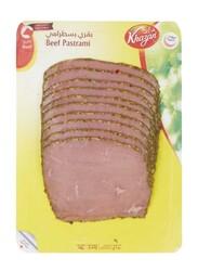 Khazan Beef Pastrami Sliced, 250 grams