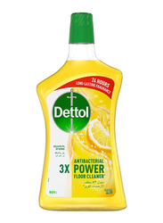 Dettol Lemon 3X Antibacterial Power Floor Cleaner, 900ml