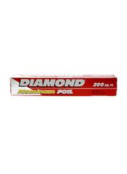 Diamond Aluminum Foil, 200sq.ft