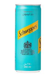 Schweppes Bitter Lemon Soft Drink Can, 250ml