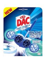 DAC Blue Active Eucalyptus Toilet Rim Block, 50g