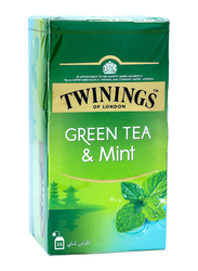 Twinings Mint Green Tea, 25 Tea Bags x 1.5g