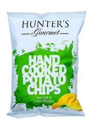 Hunter's Gourmet Sea Salt & Cider Vinegar Hand Cooked Potato Chips, 125g