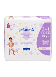 Johnson's Baby 192-Sheet Ultimate Clean Wipes for Babies
