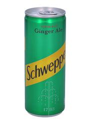 Schweppes Ginger Ale Soft Drink, 250ml