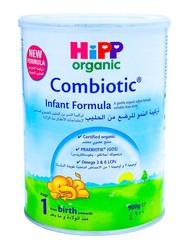 Hipp Organic Combiotic Stage 1 Infant Formula Milk, 900g