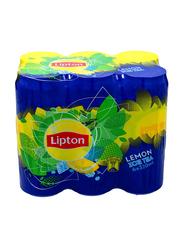 Lipton Lemon Ice Tea, 6 Cans x 320ml