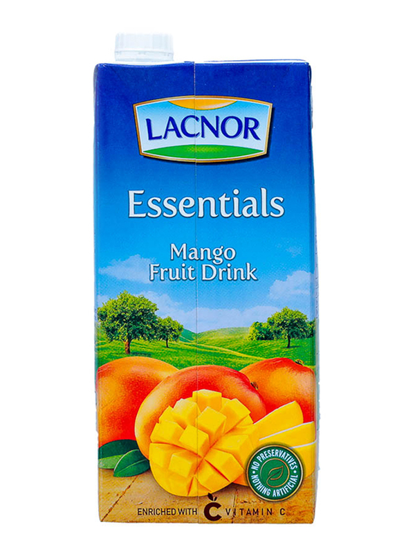 Lacnor Essentials Mango Fruit Juice Drink, 1 Liter