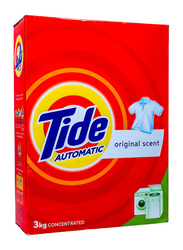 Tide Automatic Original Scent Laundry Powder Detergent, 3 Kg