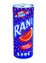 Rani Float Orange Fruit Drink with Real Fruit Pieces, 240ml