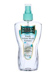 Body Fantasies Fresh White Musk 236ml Body Spray for Women