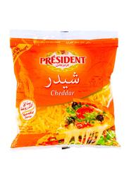 President Shredded Cheddar Cheese, 450g
