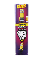 Bazooka Push Pop Strawberry Black Currant Flavour Candy, 15g