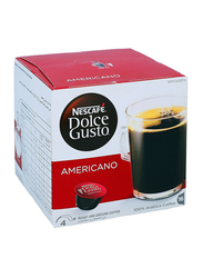 Nescafe Dolce Gusto Americano Roast and Ground Coffee, 16 Capsules x 16g