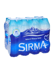 Sirma Natural Mineral Water, 12 Bottles x 500ml
