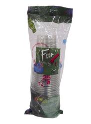 Fun 12oz 25-Piece Plastic Cups, Clear