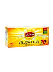 Lipton Yellow Label Black Tea, 25 Tea Bags x 2g
