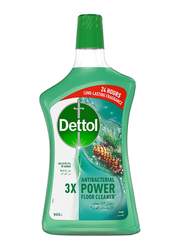 Dettol Pine 3X Antibacterial Power Floor Cleaner, 900ml