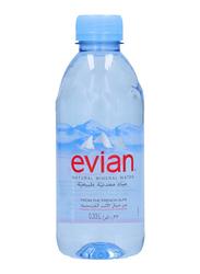 Evian Natural Mineral Water, 330ml