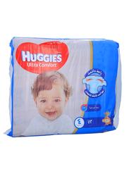 Huggies Ultra Comfort Superflex Diapers, Size 4, 8-14 kg, Jumbo Pack, 72 Count