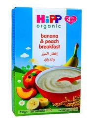 Hipp Organic Peach & Banana Breakfast, 230g